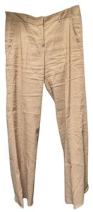 Theory Beige Linen Pants