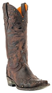 Old Gringo Swarovski Crystals Chocolate Brown Boots