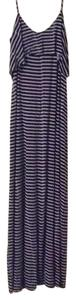 Navy and white Maxi Dress by Tart Collections
