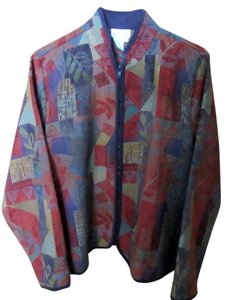 Coldwater Creek Tapestry Jacket Cardigan