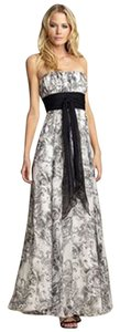 BCBGMAXAZRIA Strapless Toile Wedding Bridesmaid Dress