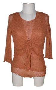 Nomadic Traders Twinset Bias Cut Top rust