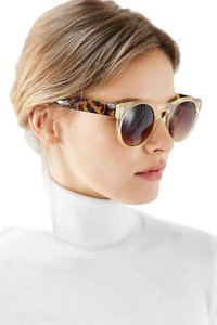 Urban Outfitters Urban Outtfitters Helium Flat Top Round Sunglasses NWT $50 SKU3665950 Color 0071