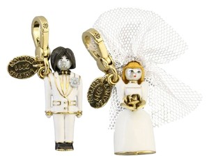 Juicy Couture Juicy Couture Charm Limited Edition Bride & Groom Wedding Gold Charm NIB *RARE*