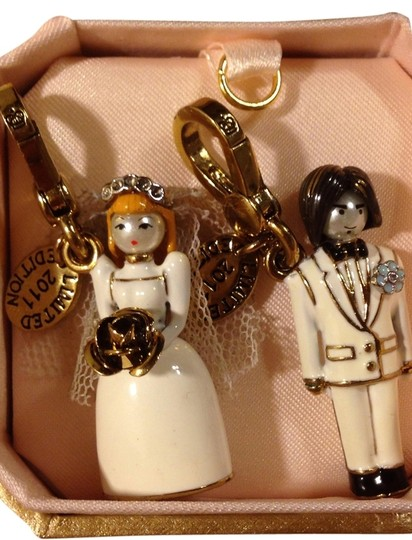 Juicy Couture Limited Edition Bride & Groom Wedding Charms