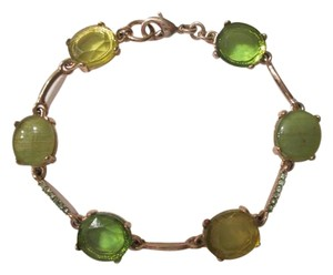 Other Green and gold color costume jewelry braclet.