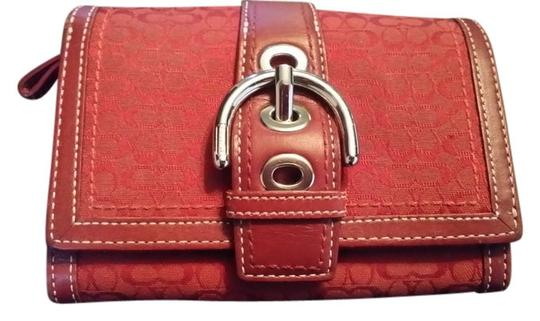 Preload https://item2.tradesy.com/images/coach-red-small-wallet-1670971-0-0.jpg?width=440&height=440