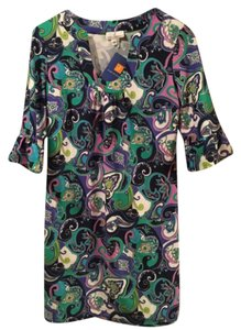 Jude Connally short dress navy/green/purple/pink/white on Tradesy
