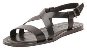 Salvatore Ferragamo Men Hickory Sandals