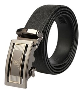 "Cavalli Bianchi Cavalli Bianchi Men's Fashion Belt Made of Genuine Leather with Unique Auto Lock Buckle#4 (36-38"" M)"
