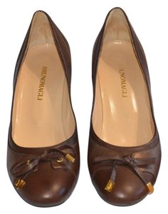 Bruno Magli Bronze Pumps