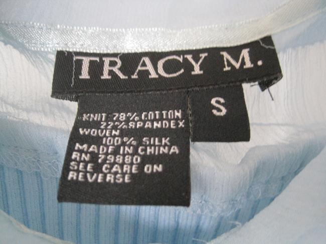 Tracy M Top Light Sky Blue
