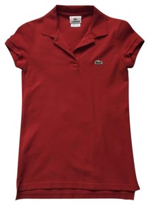 Lacoste Polo Classic Top Red