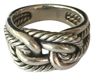 David Yurman DAVID YURMAN Size 10 Unisex Sterling Silver Labyrinth Ring!