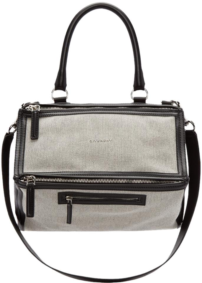 d30042de36a8 Givenchy New Medium Pandora with Canvas and Leather Satchel - Tradesy