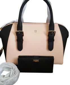 Kate Spade Satchel in Pink / blacl