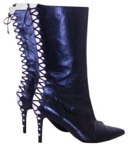Alexandra Neel Unique Sexy Fierce Black Boots