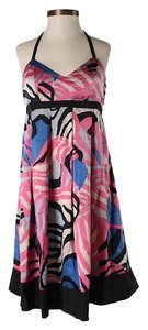 Tibi Silk Print Dress