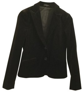 Theory Dark brown velour theory blazer
