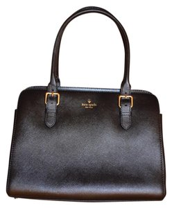 Kate Spade Briefcase Laptop Leather Satchel in Black