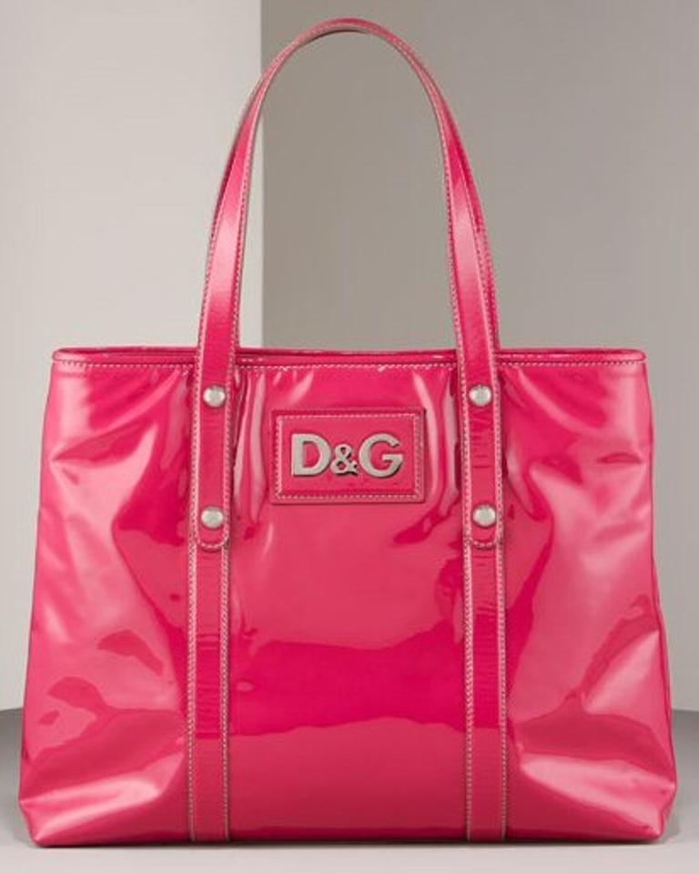 Dolce Gabbana Tote In Bright Pink