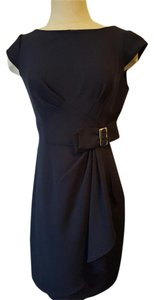 Studio One Brand New Navy Ruffle Dress