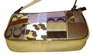Coach Patchwork Patent Leather Wristlet Multi Clutch