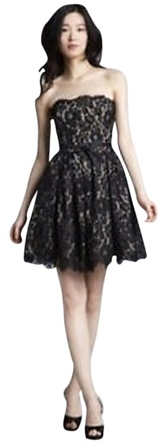Preload https://item1.tradesy.com/images/robert-rodriguez-black-and-tan-strapless-short-cocktail-dress-size-4-s-1671445-0-0.jpg?width=400&height=650