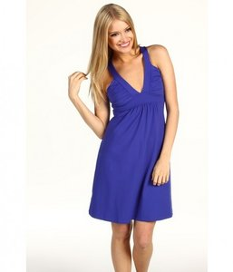 Susana Monaco short dress Navy on Tradesy