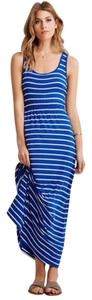 Royal/White Maxi Dress by Forever 21
