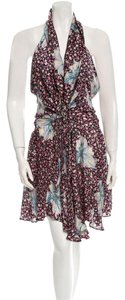 Jill Stuart short dress Floral Halter on Tradesy