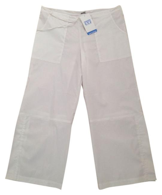 Item - White Mobility (Side Slits) Activewear Bottoms Size 10 (M, 31)