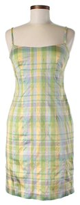 Nanette Lepore short dress *NWT* Silk Plaid Shift Sheath on Tradesy