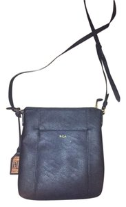 Ralph Lauren Satchel Leather Night Out Cross Body Bag