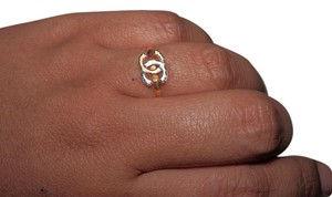 21K Solid Yellow Gold Ring