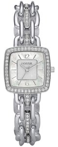 Fossil Fossil Female Dress Watch ES2746 Silver Analog