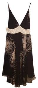 Tricia Fix short dress Black and Gold on Tradesy