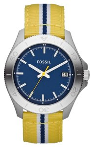 Fossil Fossil Male Fashion Watch AM4477 Yellow Analog
