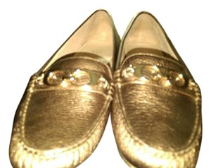 Coach LIGHT GOLD Flats