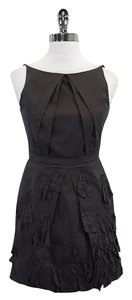 Robert Rodriguez short dress Dark Grey Pleat Design on Tradesy