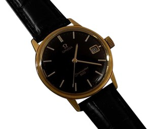 Omega 1972 Omega Seamaster Vintage Mens Handwound Watch - 18K Gold Plated & Stainless Steel