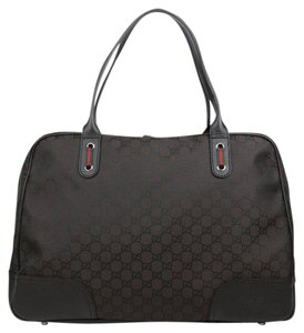 Gucci Duffle Duffle Travel 293595 Brown Travel Bag
