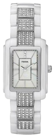Fossil Fossil Female Dress Watch CE1015 Silver Analog