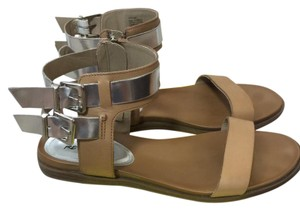 Kenneth Cole Reaction Brown/Silver Sandals