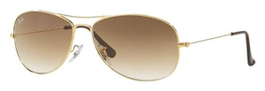 Ray-Ban Ray Ban Sunglasses RB 3362 Cockpit - Gold with Brown Gradient Lens - FREE 3 DAY SHIPPING -