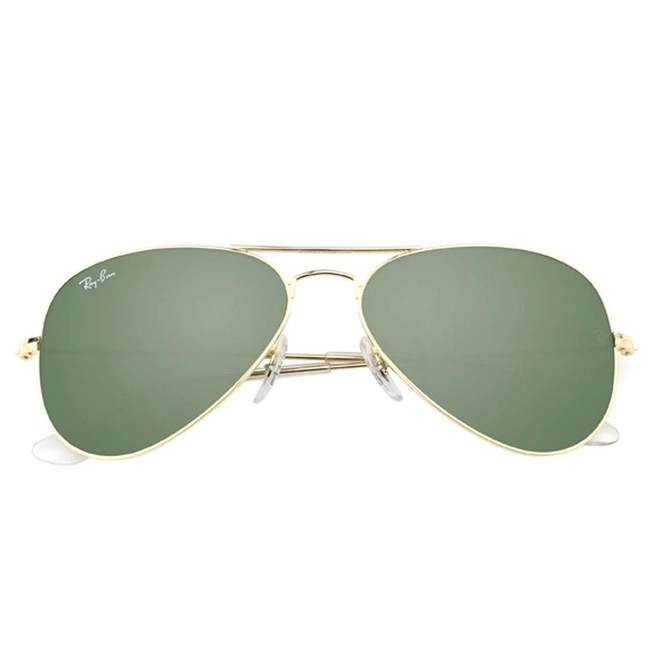 82082a7338 ... Ray-Ban Aviator Classic Gold Sunglasses RB 3025 Image 4. 12345