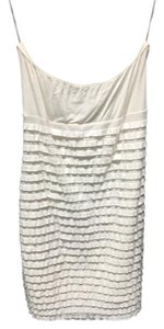 Divided by H&M short dress White Strapless Summer Tube on Tradesy