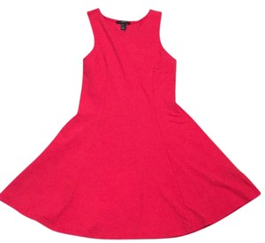 Forever 21 short dress Red coral on Tradesy