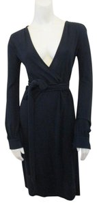 Banana Republic Wrap Jersey Knit Belted Dress