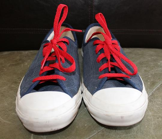 Converse Chucks Nautical Navy and White Athletic